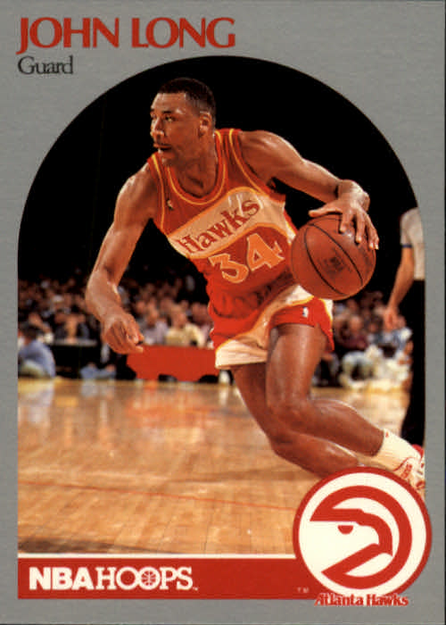 1990-91 Hoops #30 John Long SP