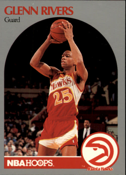 1990-91 Hoops #32 Doc Rivers