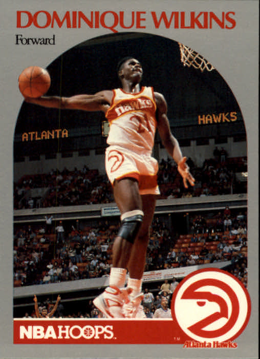 1990-91 Hoops #36 Dominique Wilkins