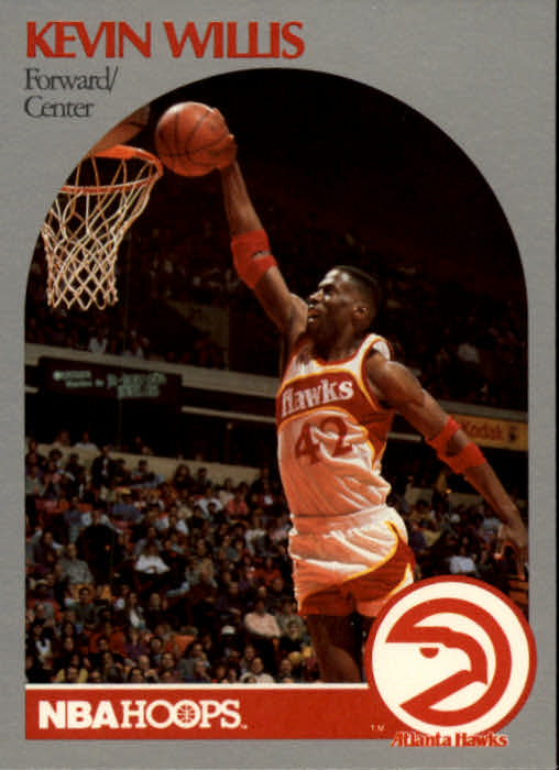 1990-91 Hoops #37 Kevin Willis