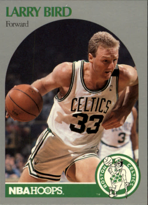 1990-91 Hoops #39 Larry Bird front image