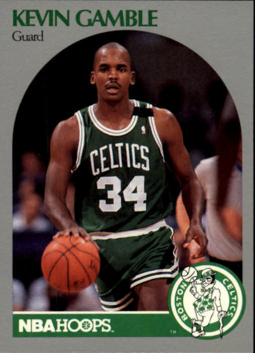 1990-91 Hoops #40 Kevin Gamble