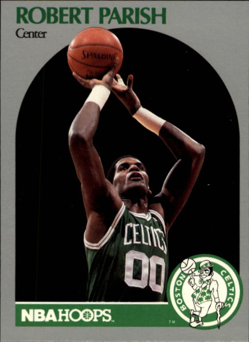 1990-91 Hoops #45 Robert Parish