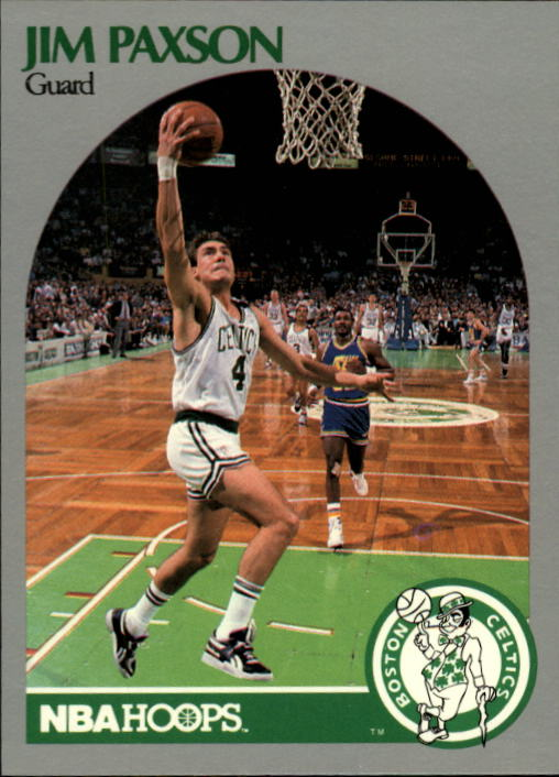 1990-91 Hoops #46 Jim Paxson SP