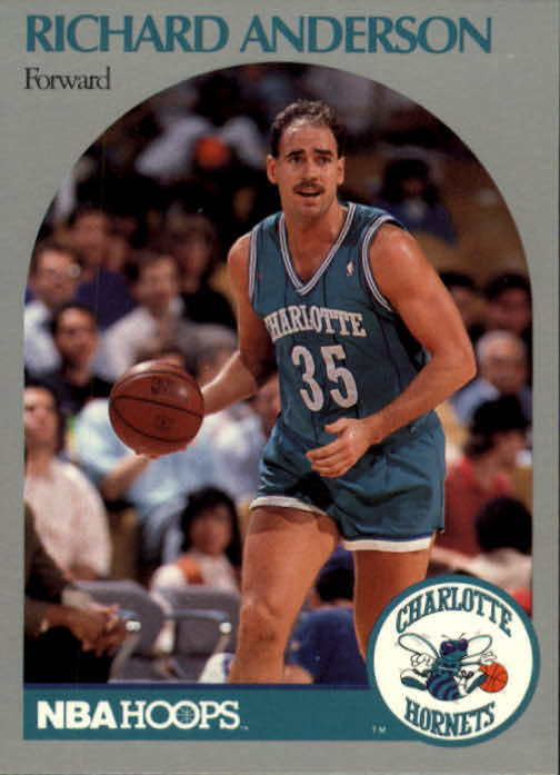 1990-91 Hoops #49 Richard Anderson SP