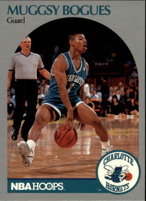 1990-91 Hoops #50 Muggsy Bogues