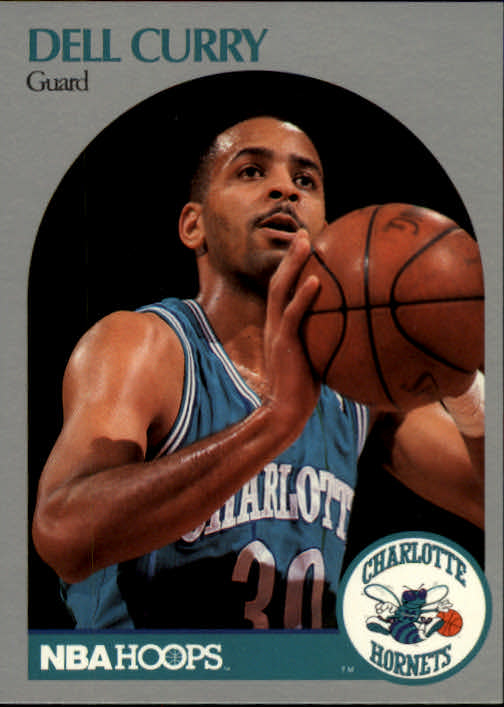 1990-91 Hoops #52 Dell Curry
