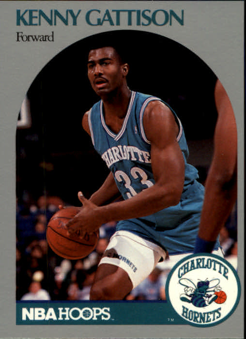 1990-91 Hoops #53 Kenny Gattison RC