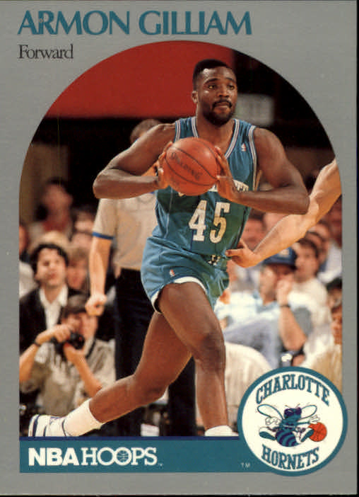 1990-91 Hoops #54 Armon Gilliam