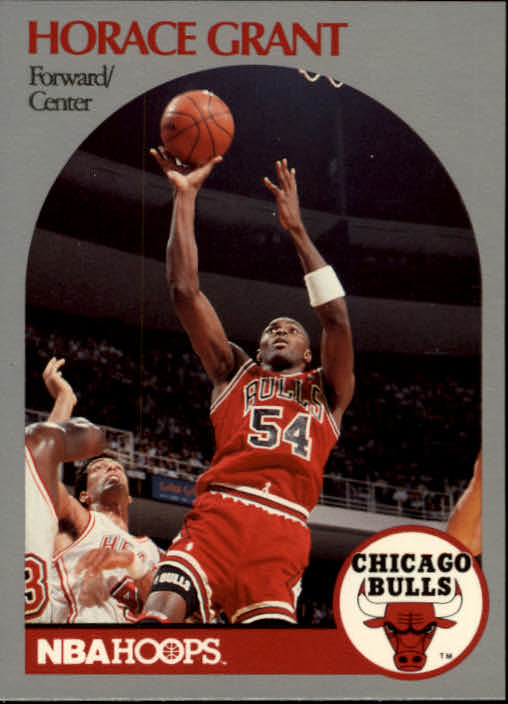 1990-91 Hoops #63 Horace Grant