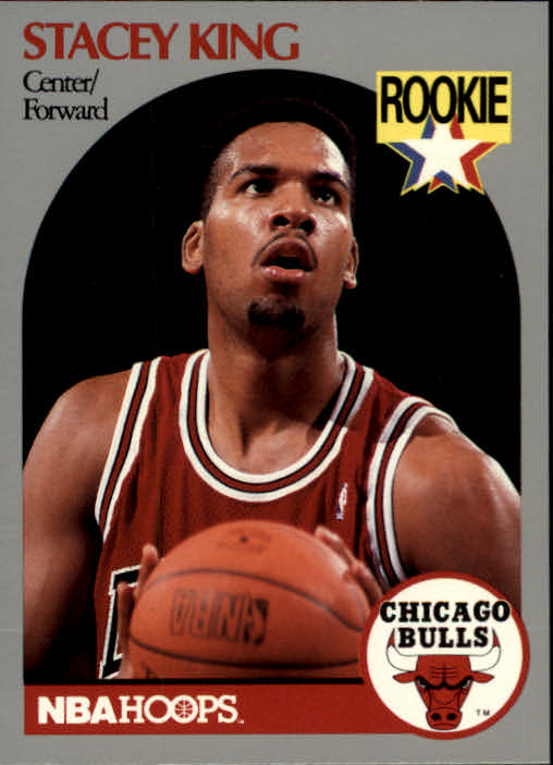 1990-91 Hoops #66 Stacey King RC