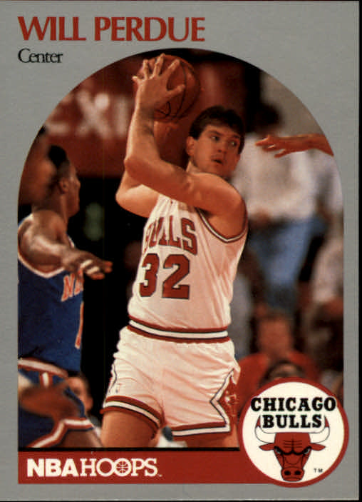1990-91 Hoops #68 Will Perdue