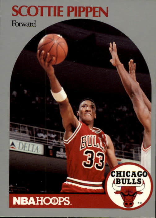 1990-91 Hoops #69 Scottie Pippen