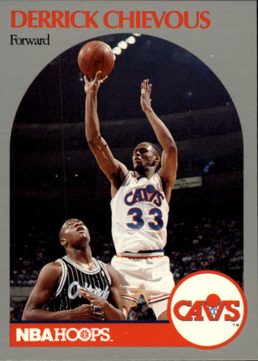 1990-91 Hoops #72 Derrick Chievous