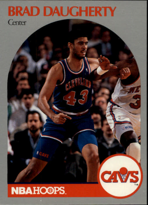1990-91 Hoops #73 Brad Daugherty