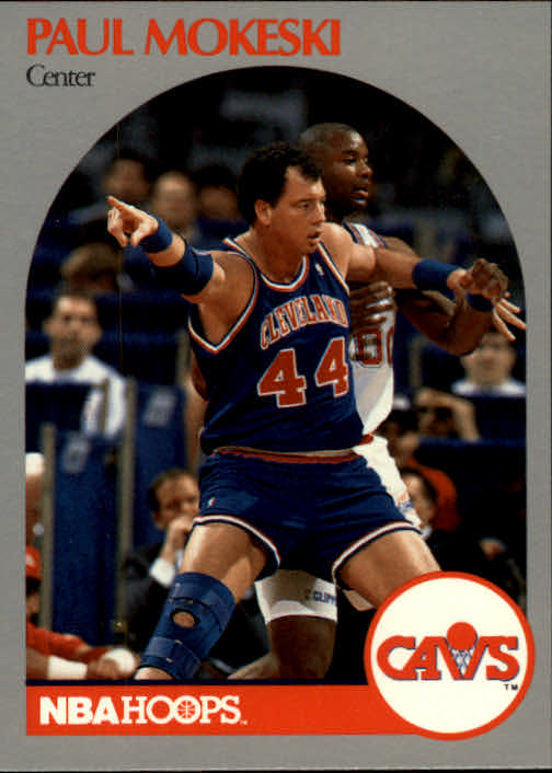 1990-91 Hoops #76 Paul Mokeski SP