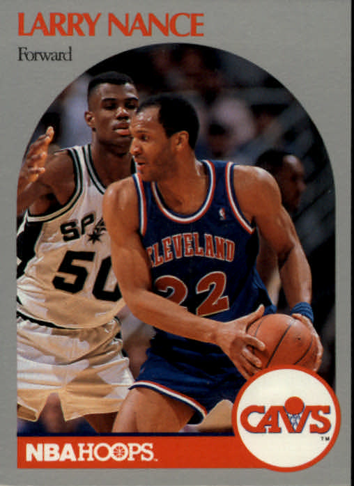1990-91 Hoops #78 Larry Nance