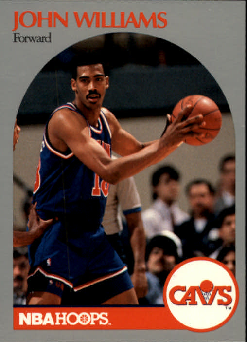 1990-91 Hoops #80 Hot Rod Williams