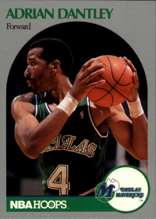 1990-91 Hoops #83 Adrian Dantley SP