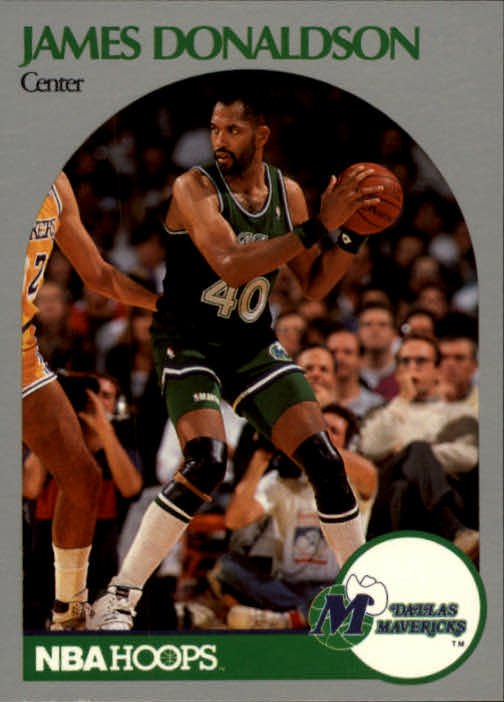 1990-91 Hoops #85 James Donaldson