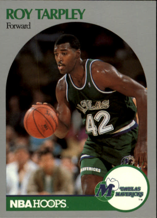 1990-91 Hoops #88 Roy Tarpley