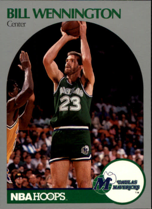 1990-91 Hoops #89 Bill Wennington SP