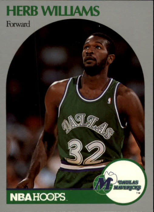 1990-91 Hoops #90 Herb Williams