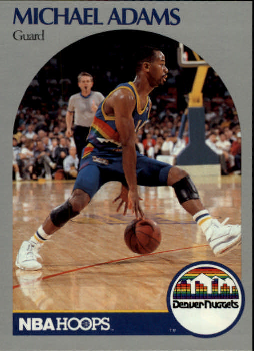 1990-91 Hoops #91 Michael Adams