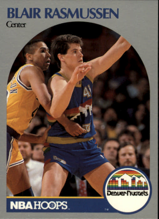 1990-91 Hoops #99 Blair Rasmussen