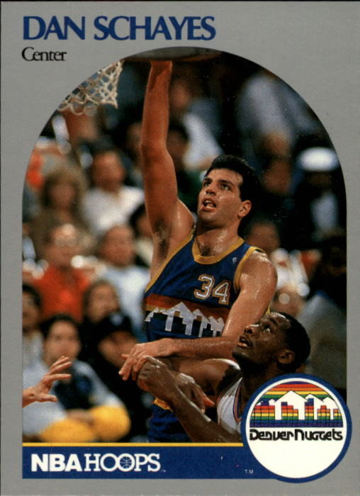 1990-91 Hoops #100 Danny Schayes SP