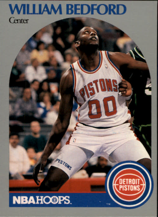 1990-91 Hoops #102 William Bedford RC