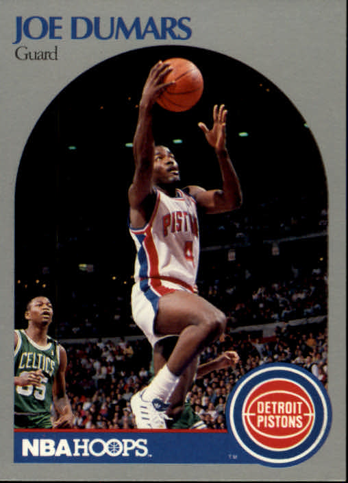 1990-91 Hoops #103 Joe Dumars
