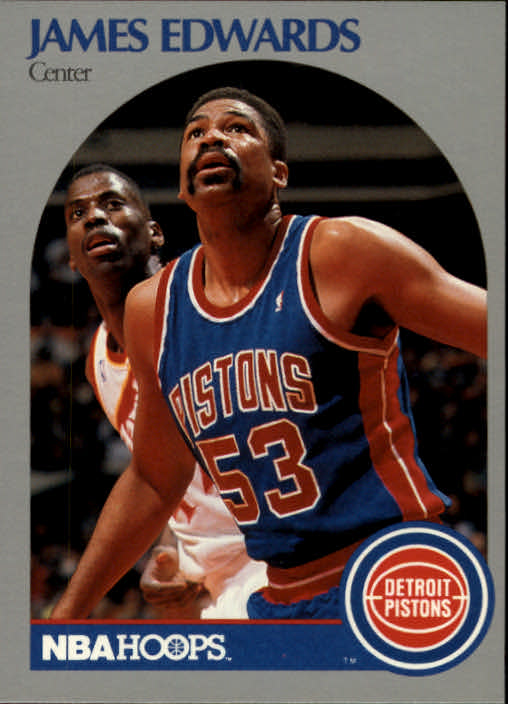 1990-91 Hoops #104 James Edwards