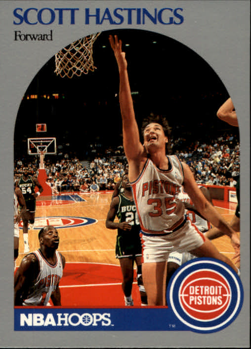 1990-91 Hoops #105 Scott Hastings