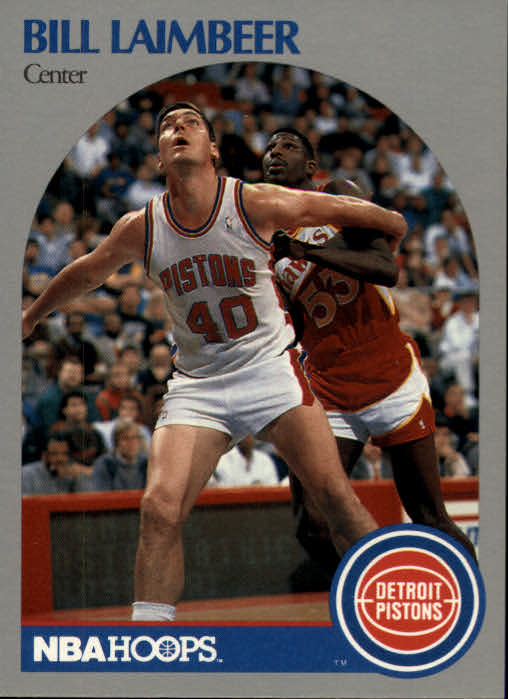 1990-91 Hoops #108 Bill Laimbeer