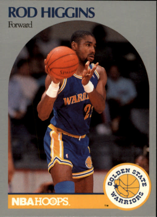 1990-91 Hoops #114 Rod Higgins