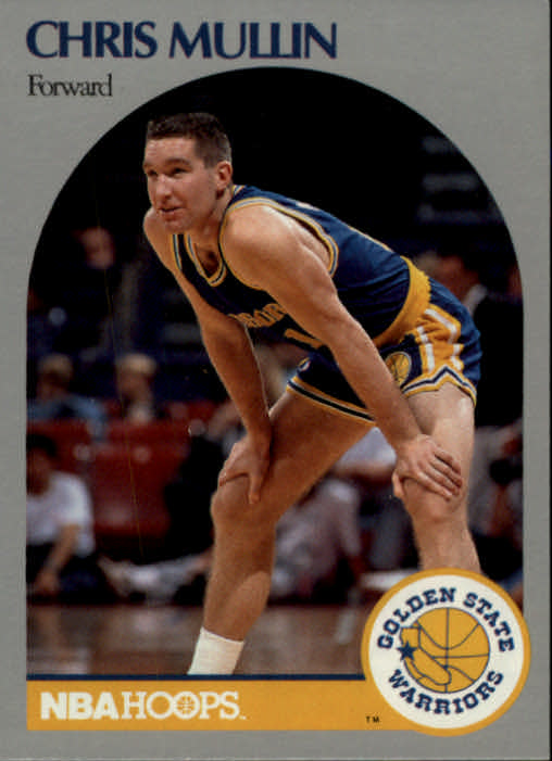 1990-91 Hoops #116 Chris Mullin UER/(Born Brooklyn, NY not New York, NY)