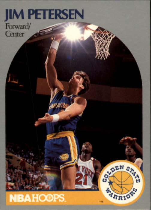 1990-91 Hoops #117 Jim Petersen