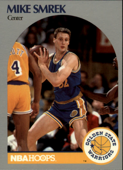 1990-91 Hoops #119 Mike Smrek