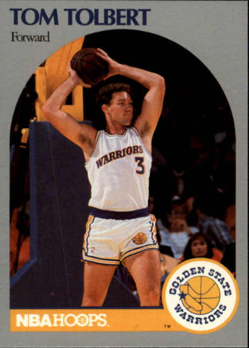 1990-91 Hoops #121 Tom Tolbert RC