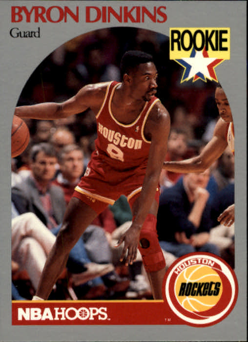 1990-91 Hoops #123 Byron Dinkins SP