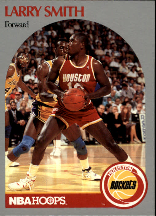 1990-91 Hoops #128 Larry Smith