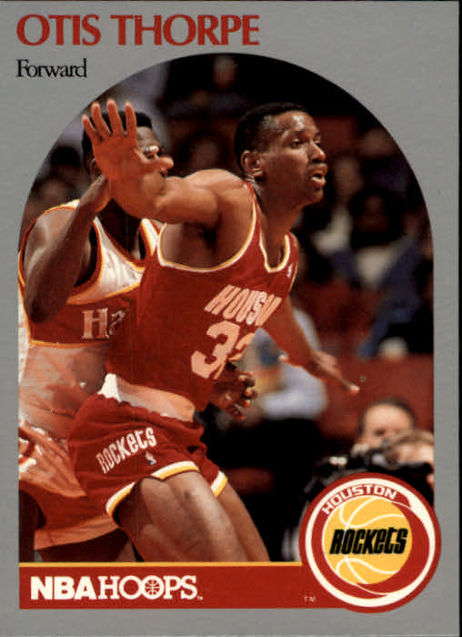 1990-91 Hoops #129 Otis Thorpe