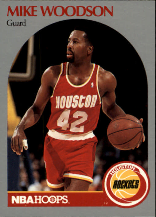 1990-91 Hoops #131 Mike Woodson