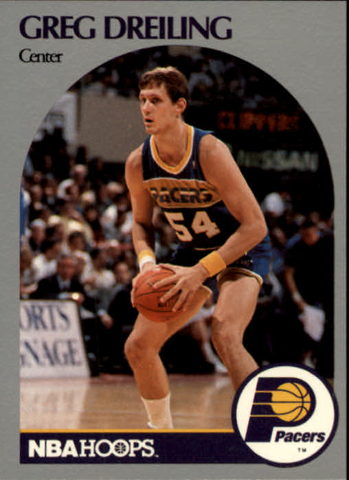 1990-91 Hoops #132 Greg Dreiling RC