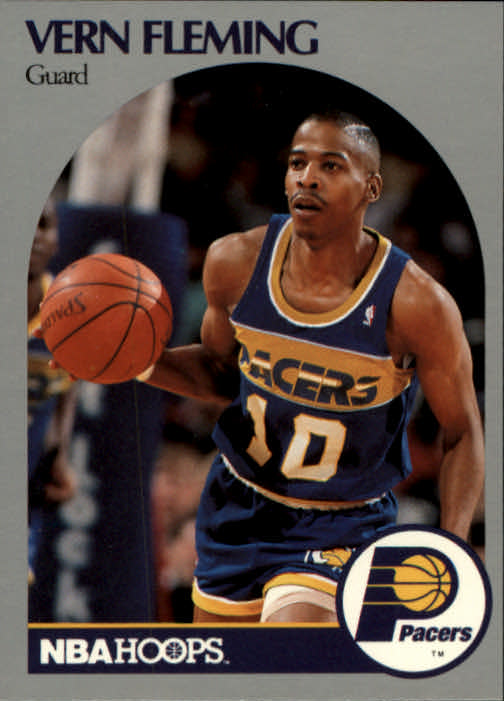 1990-91 Hoops #133 Vern Fleming