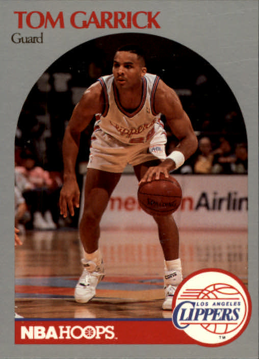 1990-91 Hoops #144 Tom Garrick