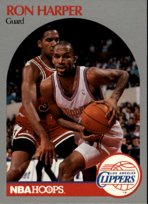 1990-91 Hoops #146 Ron Harper