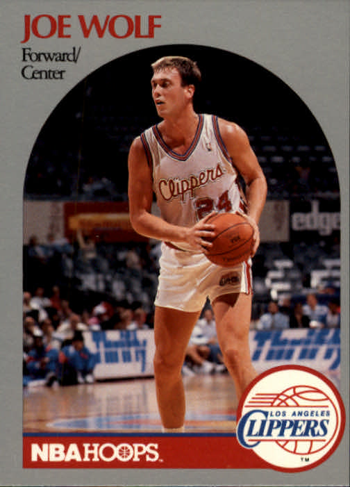 1990-91 Hoops #152 Joe Wolf SP