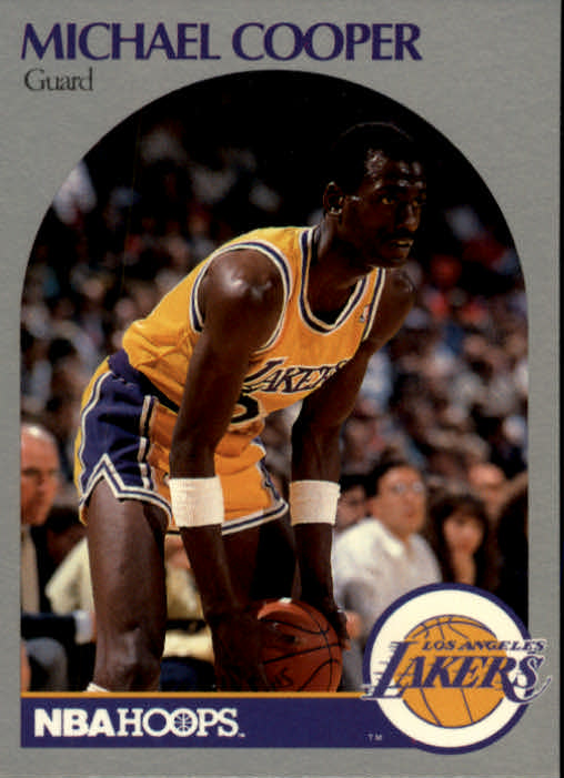 1990-91 Hoops #153 Michael Cooper SP